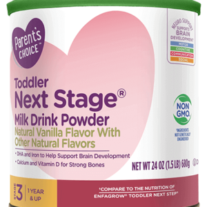 PARENTS CHOICE TODDLER NEXT STAGE