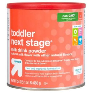 TODDLER NEXT STAGE FORMULA UP AND UP 24 OZ