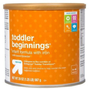 UP AND UP TODDLER BEGINNINGS 20 OZ