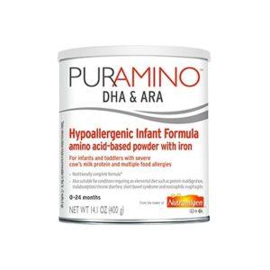 PURAMINO HYPOALLERGEN INFANT FORMULA POWDER 14.1 OZ CAN