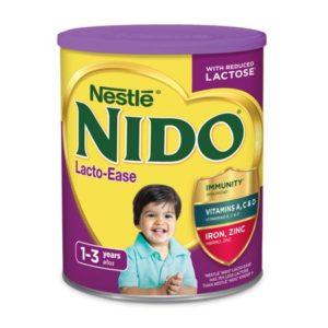 NIDO LACTO-EASE POWDERED MILK 28.1 OZ